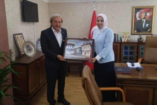 OUR MAYOR VISITED TO NEW DIRECTOR OF NATIONAL EDUCATION