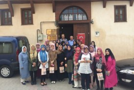 IMAM HATIP HIGH SCHOOL STUDENTS WHO COMES TO TEN DIFFERENT CITIES , VISITED TO OSMANELİ
