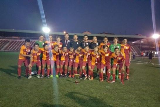 TFF LEFKE CUP U 15 TURNUVASINDA KUPA GALATASARAY'IN