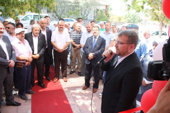 OUR DEPUTY HALİL ELDEMİR WAS IN OSMANELİ