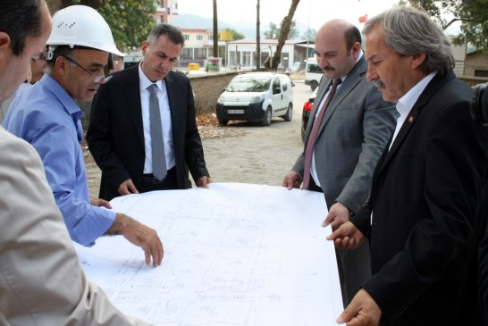 FIRST OFFICIAL VISITING TO OSMANELİ FROM GOVERNOR OF BILECIK CITY SÜLEYMAN ELBAN