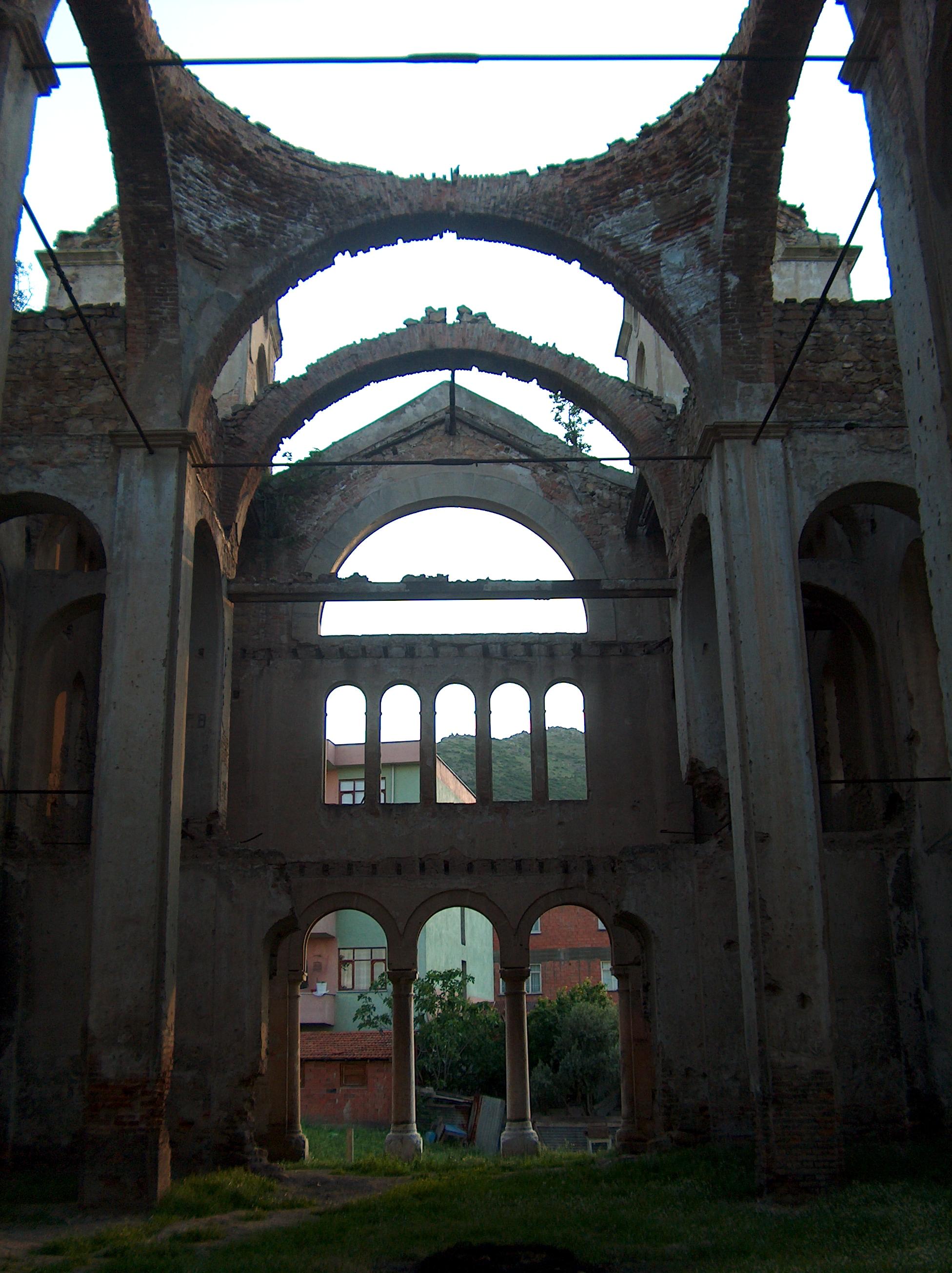 Fotoğraf 59. Hagios Georgios (Aya Yorgi) Rum Kilisesi Narteks Bölümü.