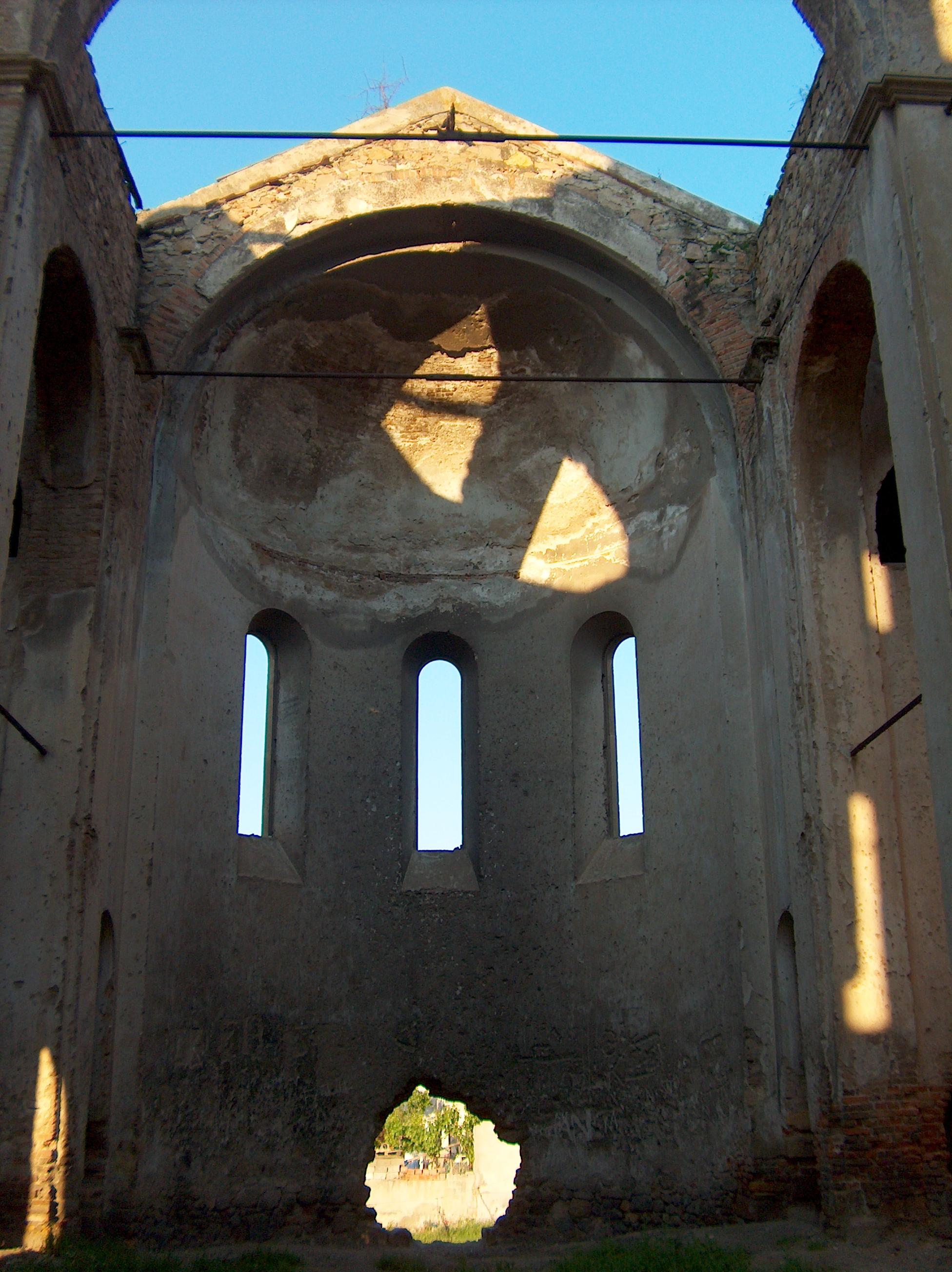 Fotoğraf 61. Hagios Georgios (Aya Yorgi) Rum Kilisesi absid bölümü.