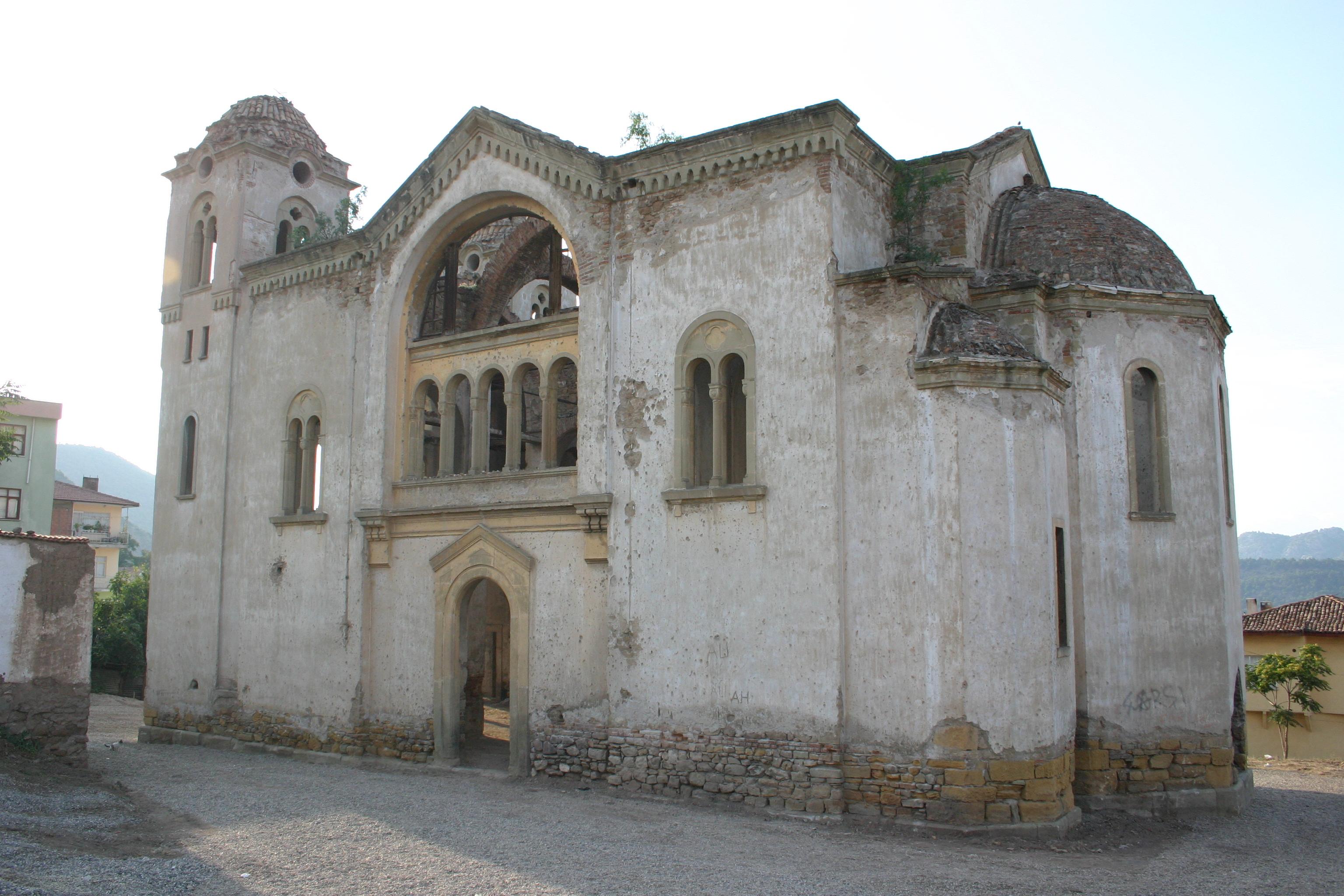 Fotoğraf 63. Hagios Georgios (Aya Yorgi) Rum Kilisesi güney cephesi.