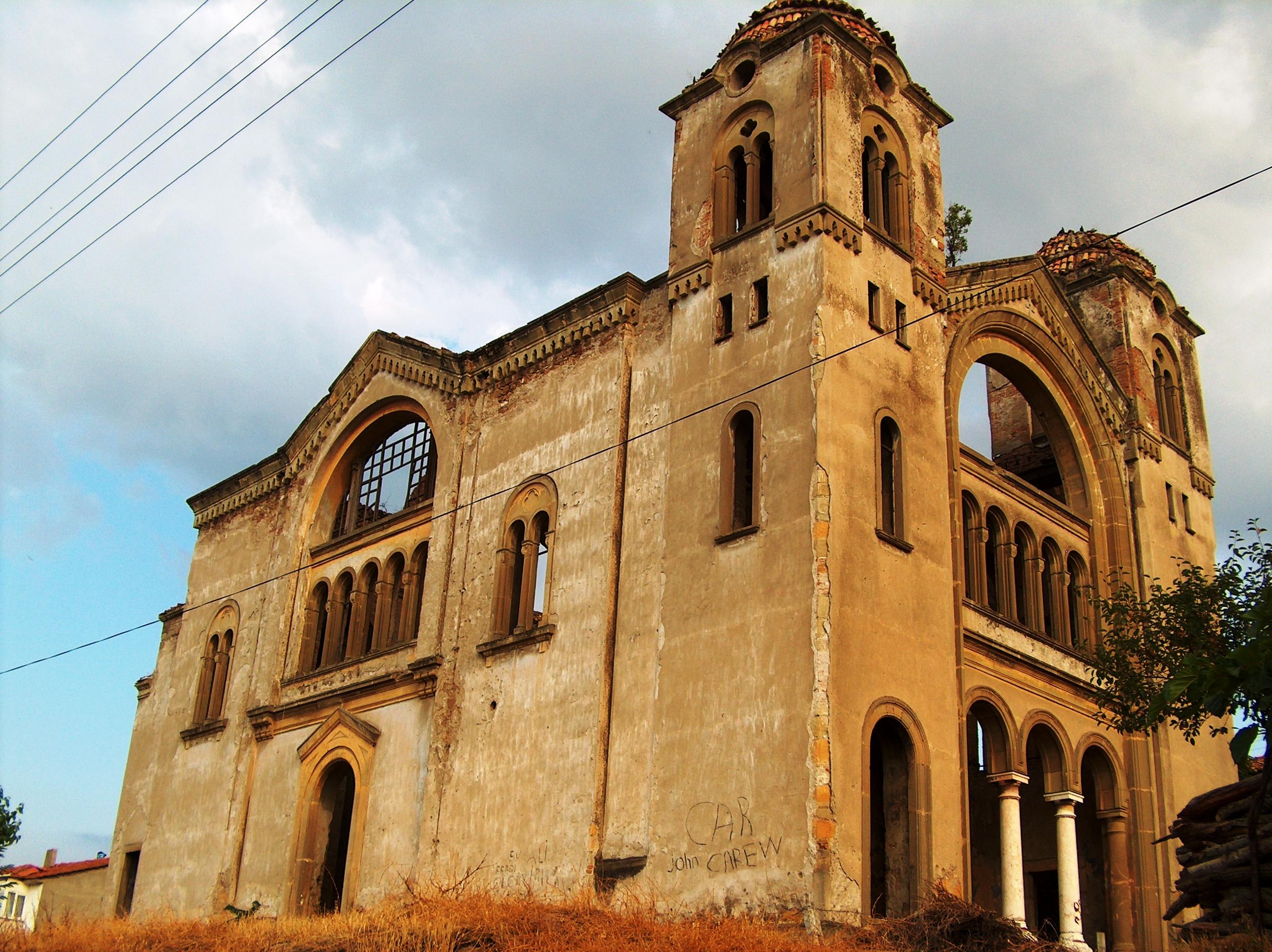 Fotoğraf 64. Hagios Georgios (Aya Yorgi) Rum Kilisesi kuzey cephesi.