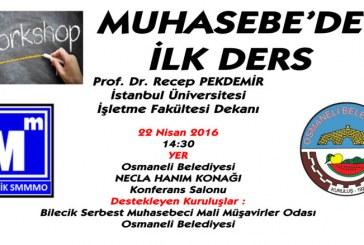 PROF. DR. RECEP PEKDEMİR OSMANELİ'NDE