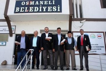 """BAŞKANIMIZ OSMANELİLİ GAZİLERİMİZİN """"GAZİLER GÜNÜNÜ"""" KUTLADI"""