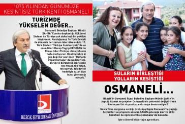 """BAŞKANIMIZ """"NEWS TİME"""" DERGİSİNE KONUK OLDU"""