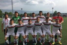 TÜRKİYE U19 FUTBOL TAKIMLARI ŞAMPİYONASI BOLU'DA BAŞLADI 1308 OSMANELİ BELEDİYE SPOR: 2 – İSTANBUL BÜYÜKCEKMECE : 2