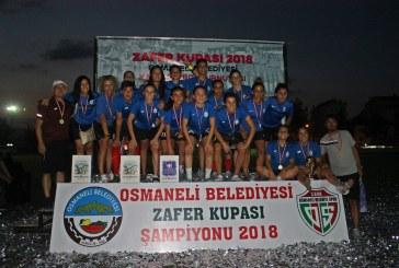 """ZAFER KUPASINDA ŞAMPİYON """"İZMİR KONAK BELEDİYE"""""""