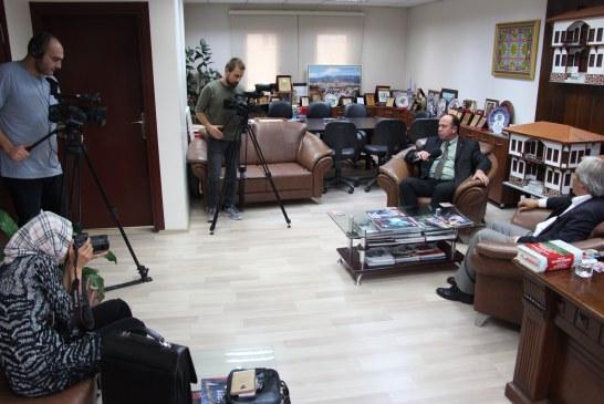 TGRT TV OSMANELİ'DE ÇEKİMLERDE