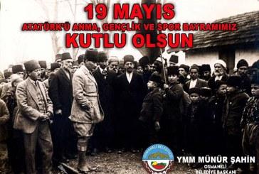 """""""19 MAYIS GENÇLİK VE SPOR BAYRAMI""""GENÇLİĞİN EMPERYALİZME KARŞI DURUŞUNUN İFADESİDİR."""