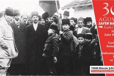 30.AĞUSTOSA ZAFER BAYRAMI,EMPERYALİZME KARŞI KAZANILAN SAVAŞIN BAYRAMIDIR.
