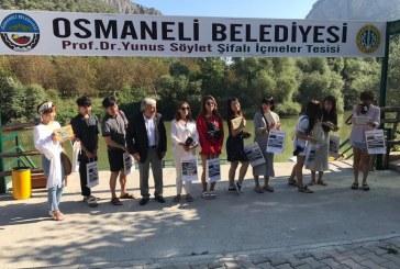 GÜNEY KORE'DEN GELEN GRUP OSMANELİ İLÇESİNE HAYRAN KALDI.