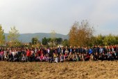 """CUMHURBAŞKANIMIZIN BAŞLATTIĞI """"GELECEĞE NEFES""""KAMPANYASI KAPSAMINDA BUGÜN OSMANELİ HALKI 6.500 AĞAÇ DİKTİ"""