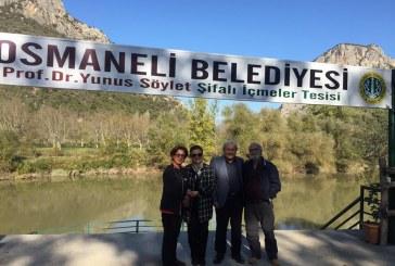 """OSMANELİ'DE KARAVAN TURİZMİ İÇİN """"ULUSAL KAMP VE KARAVAN FEDERASYONUNDAN""""DESTEK"""