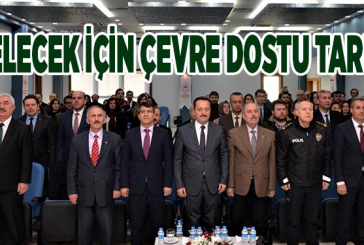 BAŞKANIMIZ AB PROJESİ GELECEK İÇİN TARIM PROJESİ KAPANIŞ PROGRAMINA KATIDI.