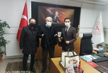 BİLECİK İL SAĞLIK MÜDÜRÜ DR FERHAT DAMKACI'YI ZİYARET ETTİK.