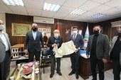 MHP TEŞKİLATINDA BAŞKAN ŞAHİN'E ZİYARET