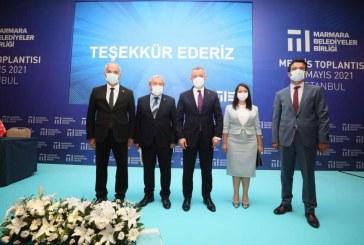 MARMARA BELEDIYELER BİRLİĞİ TOPLANTISINA KATILDIK.