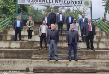 AK PARTİ İLÇE BAŞKANLARI OSMANELİ DE TOPLANDI.